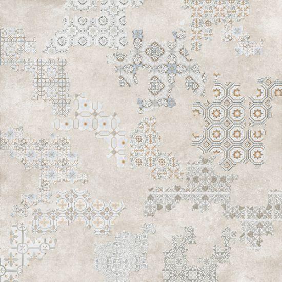 gres podłogowy dekoracyjny 60x60 geotiles Deco Cover Taupe
