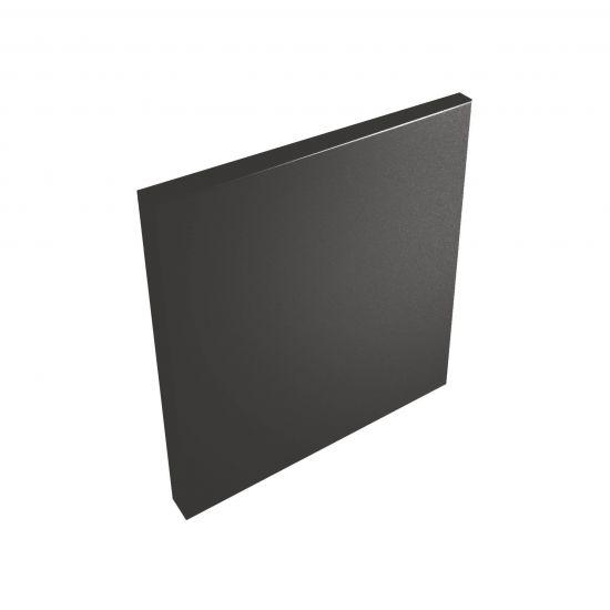 wow design płytka dekoracyjna 12x12 czarna płytka
