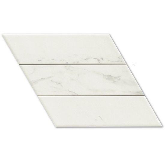 Relaonda płytka na ściane płytka na podłoge biały marmur 40x70