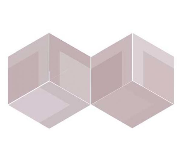 Wow design płytka na ściane pudrowy róż