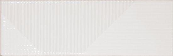 equipe kafelki na ściane białe błyszczące 6,5x20 nowoczesna łazienka salon kuchnia połysk płytki do łazienki