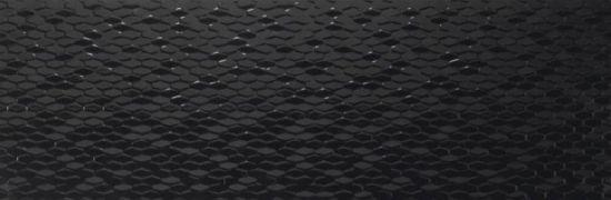 Grespania czarna mozaika wysoki połysk 30x90 płytka na ściane 30x90 kafle łazienkowe kuchnne nowoczesna łazienka kuchnia wysoki połysk