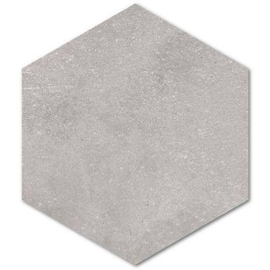Vives płytki hexagonalne surowy beton na podłoge ściane szare matowe płytki do łazienki salonu kuchni