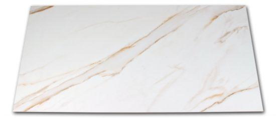 Płytka imitująca marmur biała ze złotymi żyłami Golden White 60x120