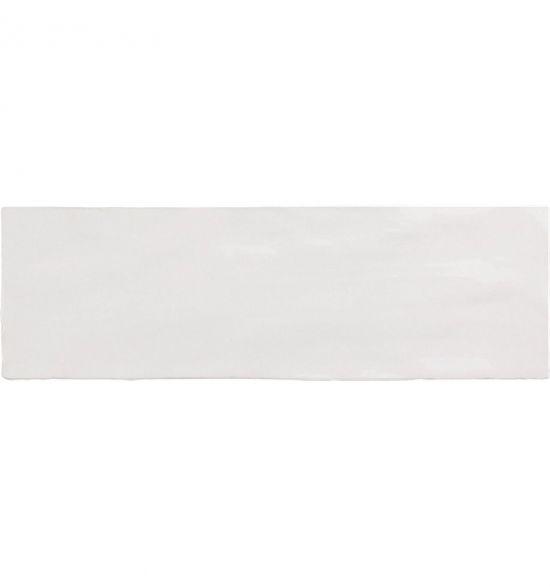 Equipe La Riviera blanct 6,5 x 20 prostokąt ścienna biała