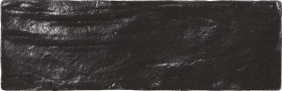 equipe kafelki na ściane czarne 6,5x20 płytki do łazienki czarne satynowe nowoczsna łazienka kuchnia