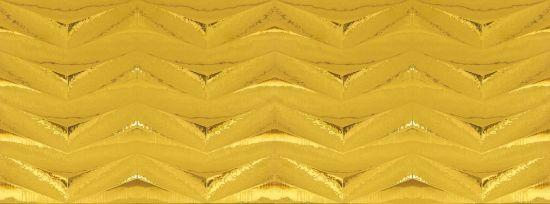 złote płytki dekoracyjne dekor łazienkowe Montblanc Forbo Gold aparici