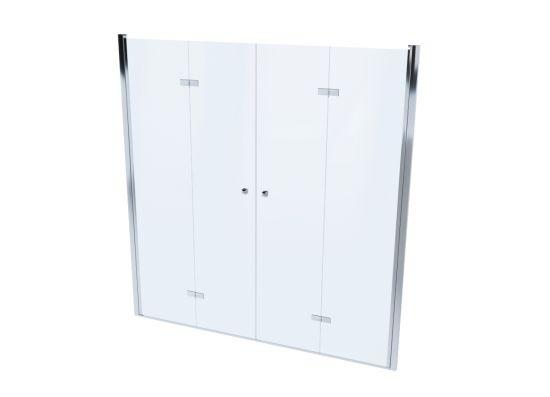 Drzwi prysznicowe podwójne Monteo 195cm