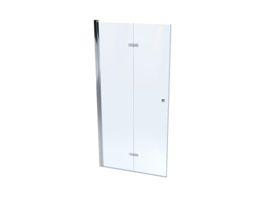 Drzwi prysznicowe składane MONTERO 100 cm