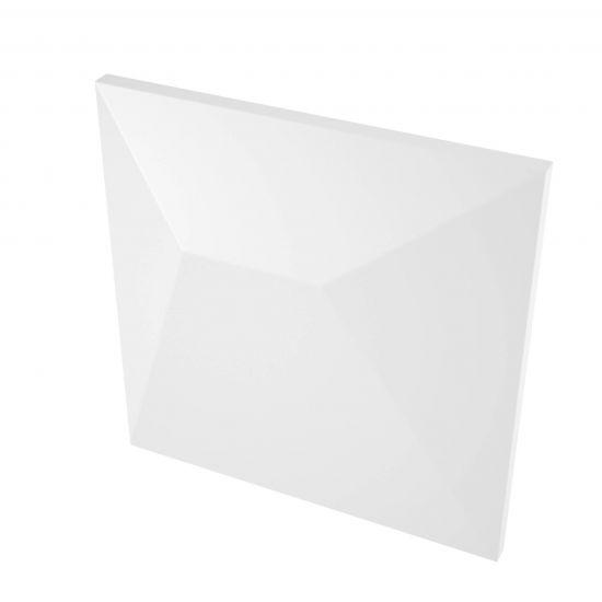 wow design płytka dekoracyjna biała 14x14