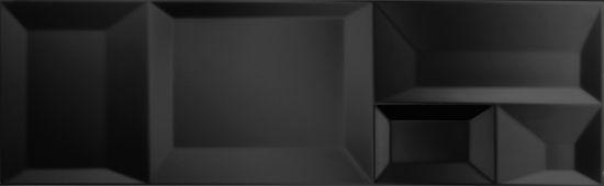 płytki ścienne 3d 30x90 Aparici Nordic Negro Capture