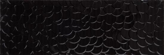 płytki z motywem muszli 30x90 Płytki Aparici Nordic Negro Shell