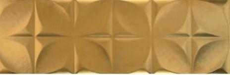 Aparici Polar Gold Tuck płytki ścienne złote 25x75