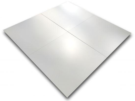 gres płytki białe matowe 60x60 do salonu i łazienki Pure White 60x60 Roca