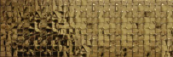płytki dekoracyjne 25x75 złote aparici Solid Gold Focus