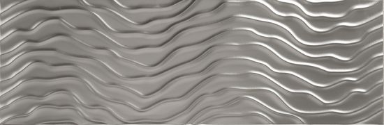płytki srebrne 25x75 aparici Solid Silver Sysmic