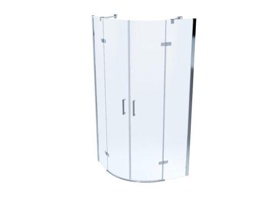 Kabina prysznicowa półokrągła SORATA 80 cm