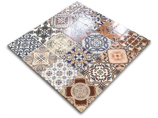 Płytki ścienne i podłogowe w stylu marokańskim Baldocer Triana 44,7x44,7