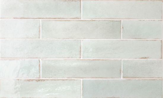 Tribeca Seaglass Mint 6x24,6 cegiełki ścienne