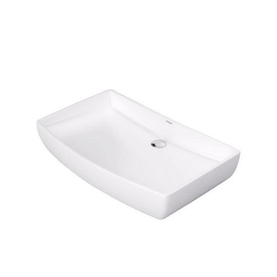 Massi umywalka nablatowa biała prostokątna
