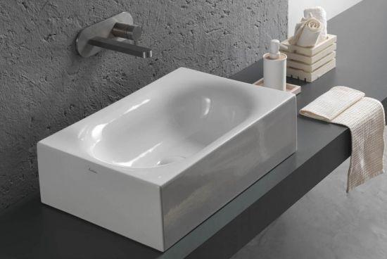 Hatria umywalka prostokątna umywalka do łazieni ceramika łazienka
