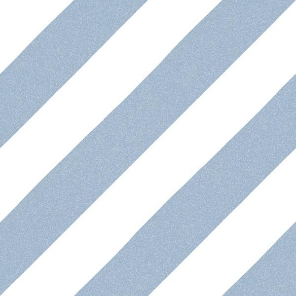 płytki niebieskie patchworki do łazienki dekoracyjne w paski vives do łazienki Maori Goroka Ciel  20x20