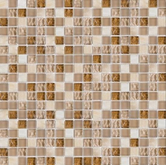Dunin mozaika szkło bezowa mozaika w połysku nowoczesna klasyczna łazienka