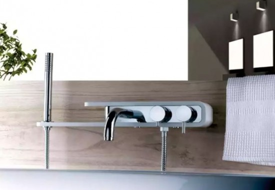 Paini bateria wannowo prysznicowa bateria łazienkowa do wanny bateria chrom