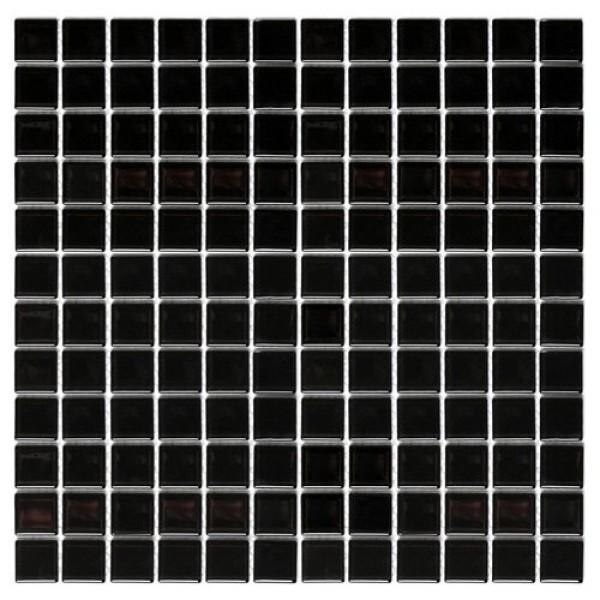 Dunin czarna mozaika na ściane 30x30