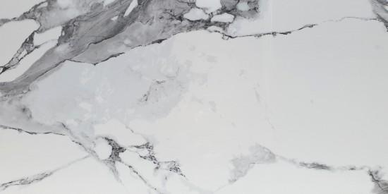 biały marmur z szarą smugą 60x120