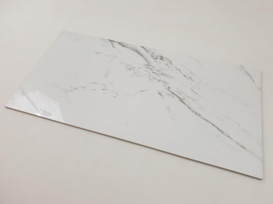 Hiszpańskie gres imitujący marmur White Blanco 120x60