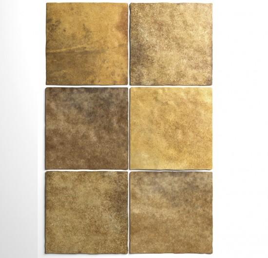 Equipe złote kafelki na ściane złote płytki 15x15