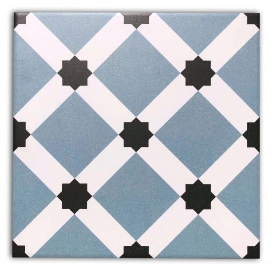 płytki gresowe patchwork BARCELONA NIGHT 25x25