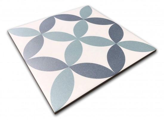 płytki podłogowe w pastelowych kolorach 25x25