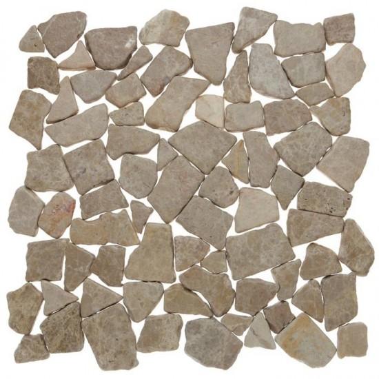 Dunin mozaika kamienna bezowe kamienie mozaika na ściane podłoge 30x30