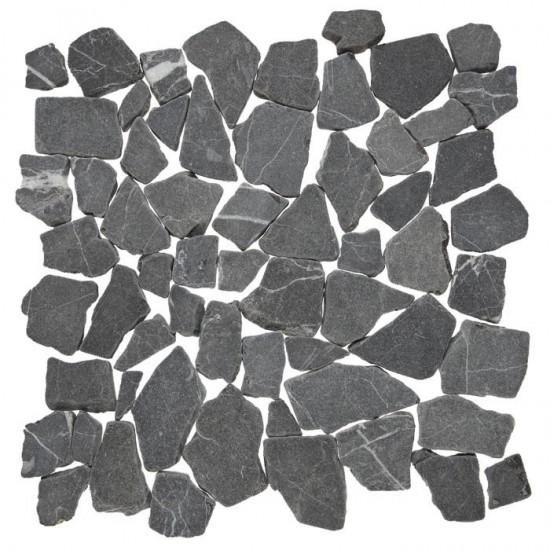 Dunin mozaika kamienna na ściane podłoge 30x30 szare kamienie mozaika do łazienki