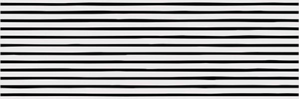 Vives płytka czarno biała płytka dekoracyjna 25x75