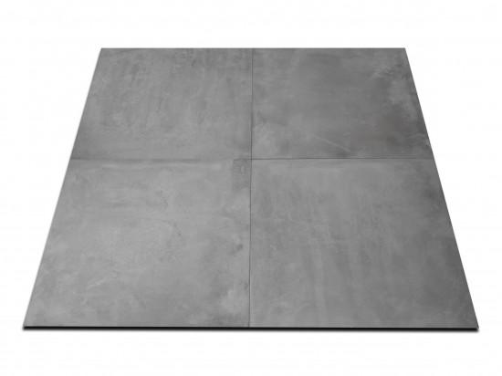płytki betonopodobne szare