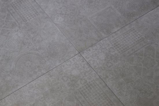 płytki szare patchwork 60x60
