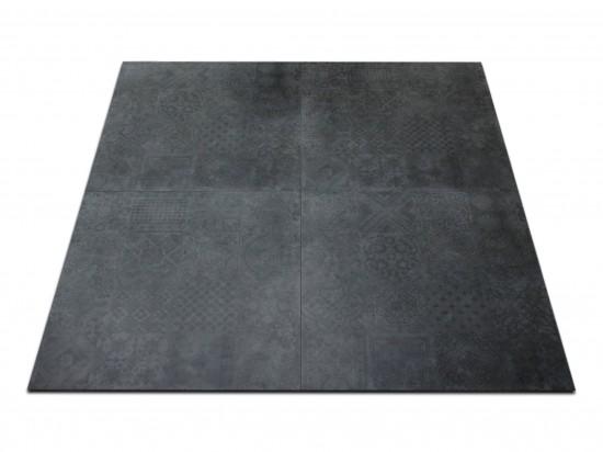 płytka podłogowa Icon Black Patchwork Abitare 60x60
