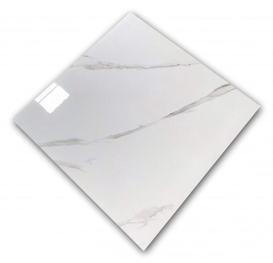 płytka marmuropodobna gres z szarą żyłką Carrara Absolute