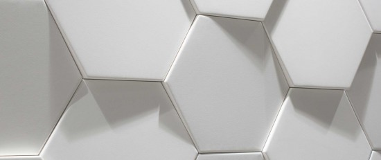 Hexa Ice White Matt 21,5x25