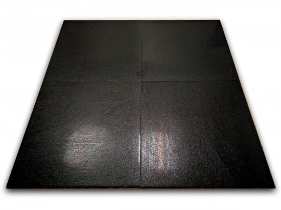Czarny gres rektyfikowany lappato