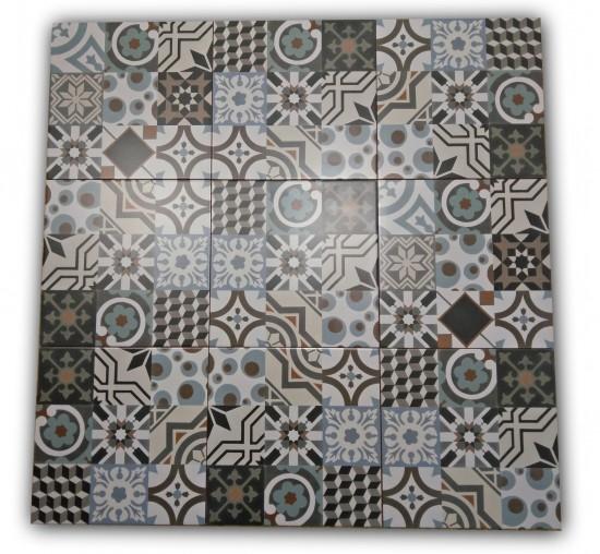 płytki patchwork 33x33 Barcelona