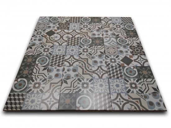 małe płytki patchwork do łazienki Barcelona 30x30