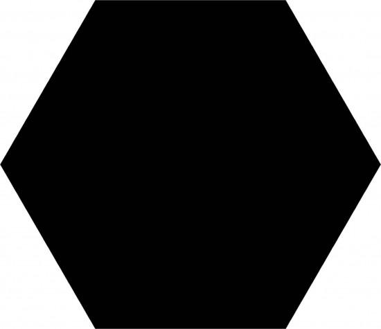płytka heksagonalna czarna heksagon czarny