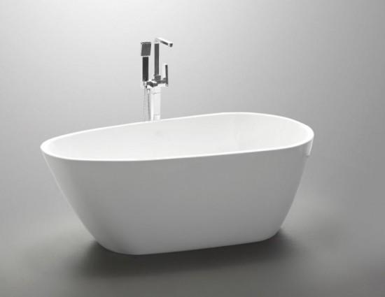 massi biała wolnostojąca owalna akryl noowoczesna elegancka łazienka
