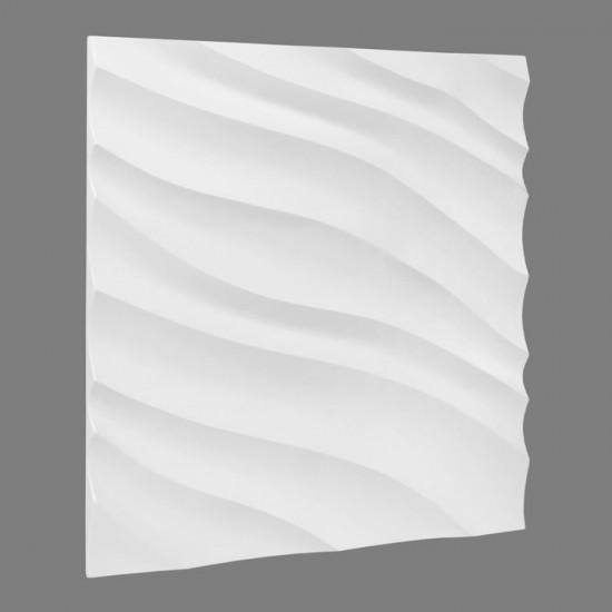 Dunin biała płytka panelowa płytka ścienna 3D nowoczesny salon