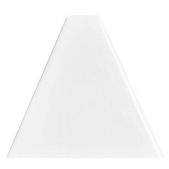 Dunin białe kafelki na sciane podłoge 10x90 białe trójkąty na ściane