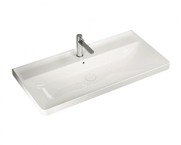 hatria umywalka prostokątna umywalka do łazienki umywalka biała ceramika